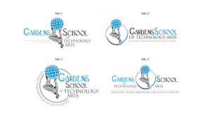 logo design by designguru for gardens school of technology arts design 7567040