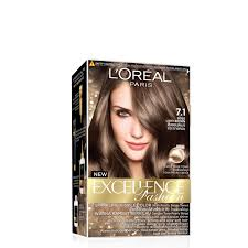 L Oreal Excellence Light Beige Brown L Oreal Excellence Creme 7 1 Beige Light Brown