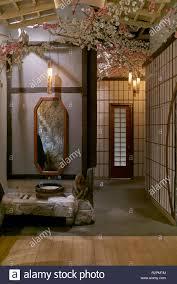 Japanische öffentliche Toilette Eingangsbereich In Der Alten