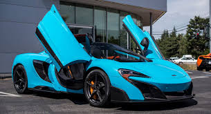 2018 mclaren 675lt. contemporary mclaren fistral blue mclaren 675lt spider is the most stunning thing youu0027ll see all  day for 2018 mclaren 675lt