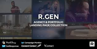 Video Website Template Best Rgen And Rgen Templates From ThemeForest