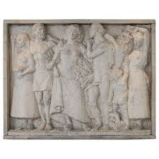 plaster relief wall art