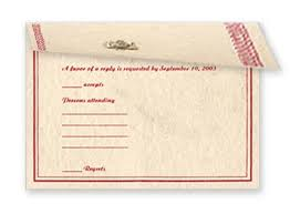 plain rsvp cards welcome to omex indian wedding cards