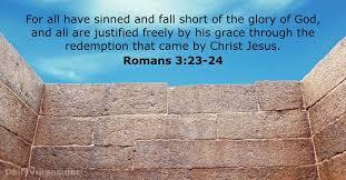 Roman 3 Romans 3 23 24 Bible Verse Of The Day Dailyverses Net