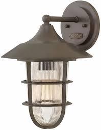 hinkley 2484bz marina nautical bronze exterior wall light fixture loading zoom