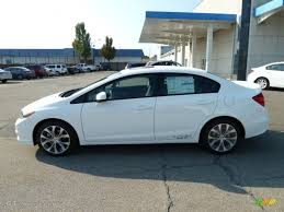 Taffeta White 2012 Honda Civic Si Sedan Exterior Photo #54157617 ...