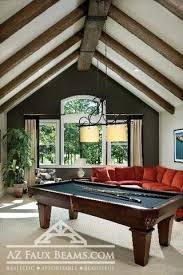 Vaulted ceiling wood beams Faux Beams Vaulted Ceiling Faux Wood Beam Az Faux Beams How To Enhance Vaulted Ceilings With Beams Az Faux Beams
