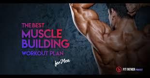 best muscle building workout plan