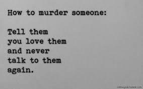 & like that, he killed me. He took everythig i had. | We Heart It ... via Relatably.com