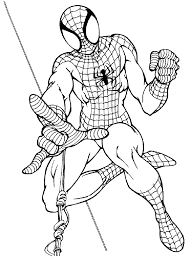 Disegni Da Colorare Spiderman Pdf Fredrotgans
