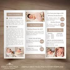Church Welcome Brochure Samples Welcome Brochure Template Newborn Photography Trifold Brochure