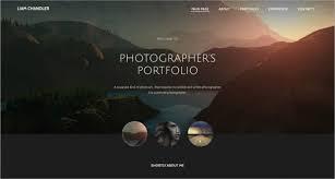 8 Best Photographer Website Themes Templates Design