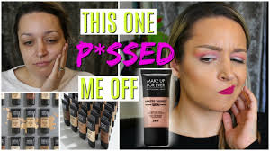makeup forever matte velvet foundation review all day wear test beauty