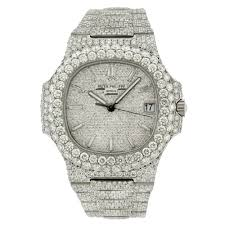 Diamonds 1a 5711 Philippe Nautilus - 40mm Omi With Patek 50ct Jewelry 21