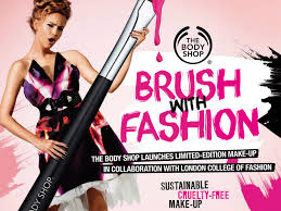 body london college of fashion launch eco friendly makeup line