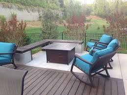 charlotte nc concrete patio and deck expansion project lake
