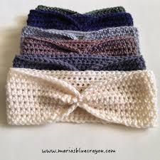 Ear Warmer Crochet Pattern Cool Simple Crochet Ear Warmer Pattern For Beginners Maria's Blue Crayon