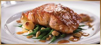 the seared citrus glazed salmon is on the restaurant week for the capital grille