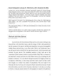dancer and the dance ballet dances