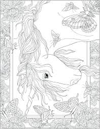 Free Printable Unicorn Coloring Pages E Printable Unicorn Coloring