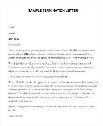 Employee Termination Templates Physician Termination Letters Company Letter Of Employment