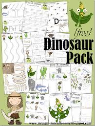 Dinosaur Worksheets | 123 Homeschool 4 Me