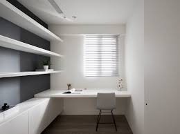 Minimalist home office design Residential 19 Interior Design Ideas 37 Minimalist Home Offices That Sport Simple But Stylish Workspaces