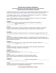 Resume Cv Cover Letter Gallery Of Resume Objective Example 5