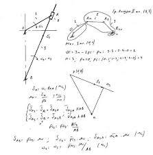 План скоростей Кинематическое исследование механизма ТММ  План скоростей