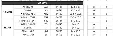 Comfort Chart Pdf Size Charts Suedwind En