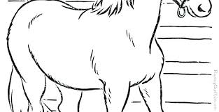 Horse Coloring Pages Hard Breyer Free Printable Carousel For Girls