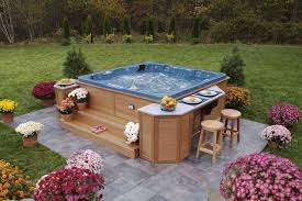 patio ideas with hot tub. Plain Ideas Decoration In Hot Tub Patio Ideas Concrete Landscaping  Google Search To With