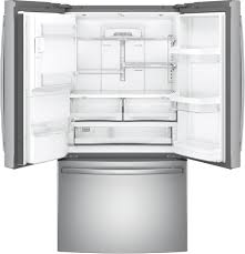 Energy Star Kitchen Appliances Ge Gye22hskss 36 Inch Counter Depth French Door Refrigerator With