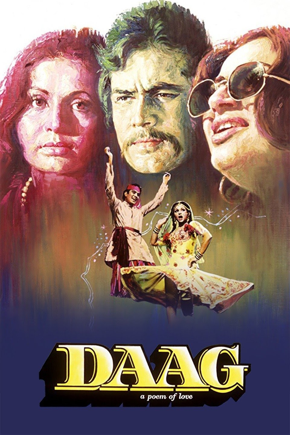 Download Daag A Poem of Love 1973 Hindi 480p | 720p WEB-DL