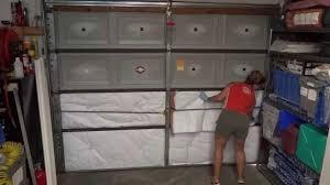 diy garage door insulation easy way to save money you