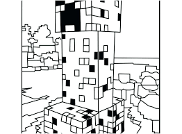 Coloring Minecraft I1592 Coloring Pages Coloring Pages Printable