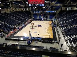 Wintrust Arena Seating Chart With Rows Wintrust Arena Section 202 Depaul Basketball
