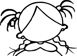 Small Picture Create Own Girl Face Empty Coloring Page Wecoloringpage