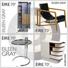 on the 13th of august an post issued four stamps in celebration of irelands pre architect furniture