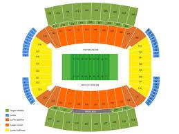 University Of Kentucky Stadium Seating Chart Commonwealth Stadium Seating Chart And Tickets