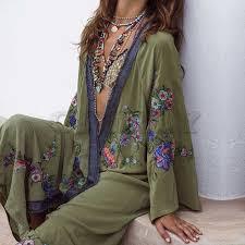 <b>CUERLY 2019 Summer</b> Floral Embroidered Beach <b>Maxi Dress</b> ...