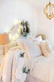 FarmhouseCottageEclectic Style Christmas Bedroom All Dressed Up Gorgeous Dress Up Bedroom Style
