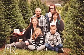 Family Photos In A Christmas Tree Farm Madison WisconsinChristmas Tree Farm Family Photos