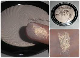 Makeup Revolution Vivid Baked Highlighter In Golden Lights Pin By Chloe Cooknick On Make Up Makeup Revolution