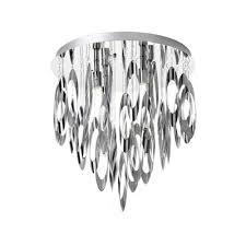 dainolite lighting 4 light allegro flush mount chandelier