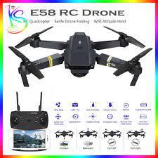 xả kho - bán tết ] mua flycam mini eachine e58 plus - máy bay 4 cánh điều  khiển từ xa có camera quay phim giá rẻ, camera cảm biến 4mp,