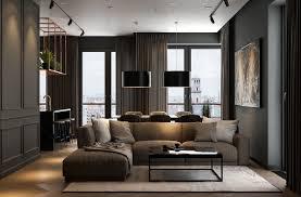 Dark Furniture Interior Design Modern Dark Interior Design