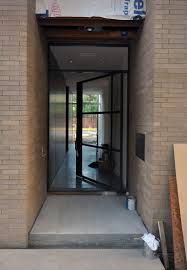 Off Center Pivot Door And  Seconds Life Of An Architect - Exterior pivot door