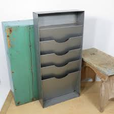 office door mail holder. Vintage Industrial Mail Or File Organizer . Vertical Desk Wall Gray Metal Office Door Holder