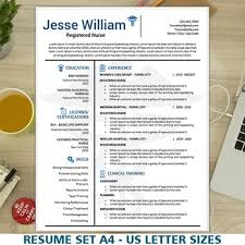 Nursing Resume Template Beauteous Nursing Resume Template Medical Resume Instant Download Nurse CV